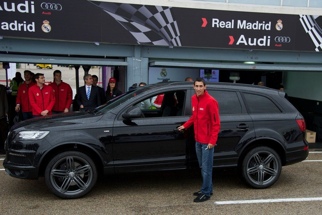 Di maria and his car