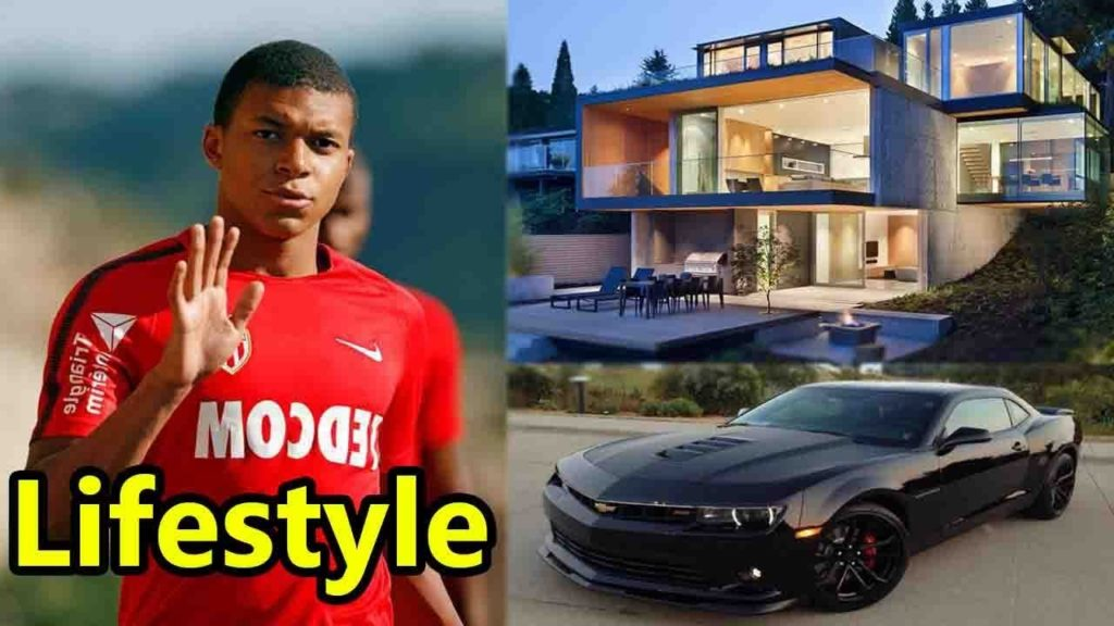 Kylian Mbappe and his car