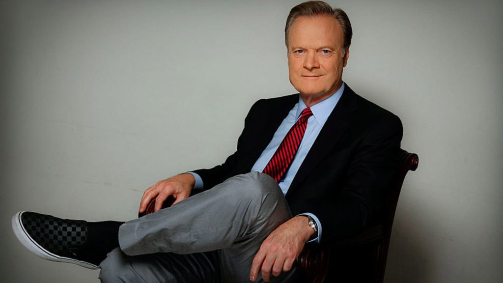 Lawrence O'Donnell posing for the camera